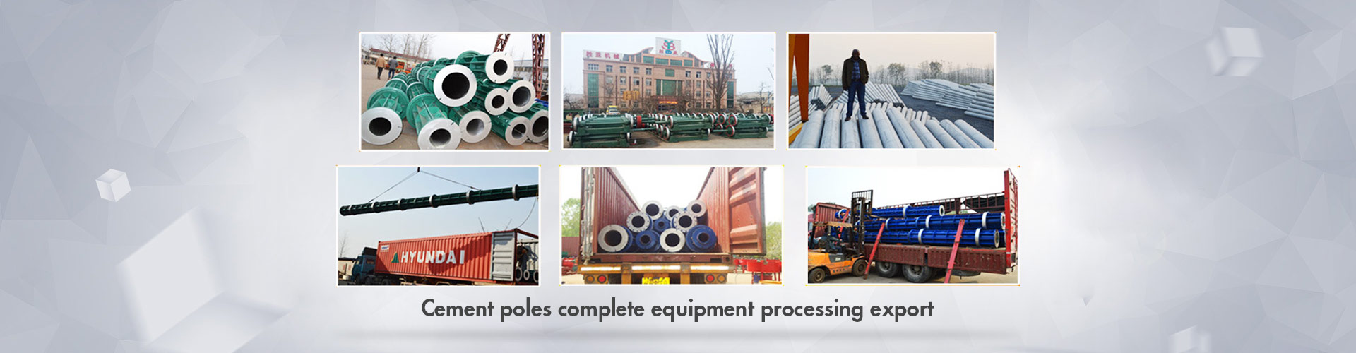 Concrete Electric Pole Machine, Block Machine