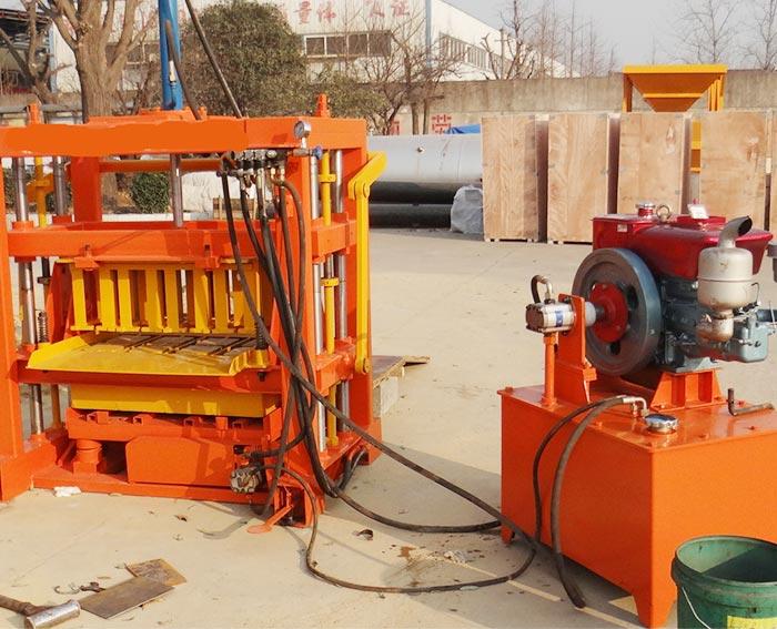 QT4-40 New Model! Hydraulic Gypsum Block Making Machine