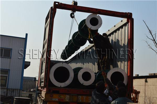 Concrete Spun Pole Machine