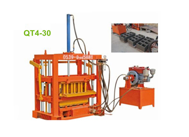 Structural Features Of Hydraulic Concrete Block Machine