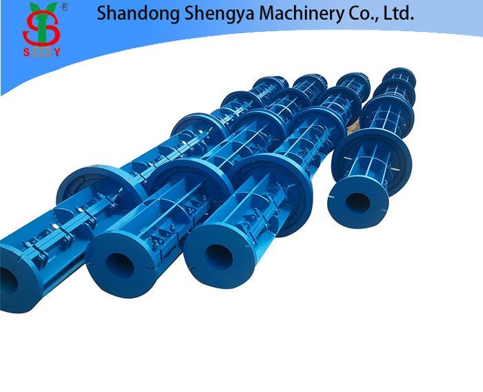 electric prestressed concrete pole making machine
