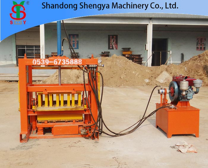 Hydraulic Gypsum Block Making Machine