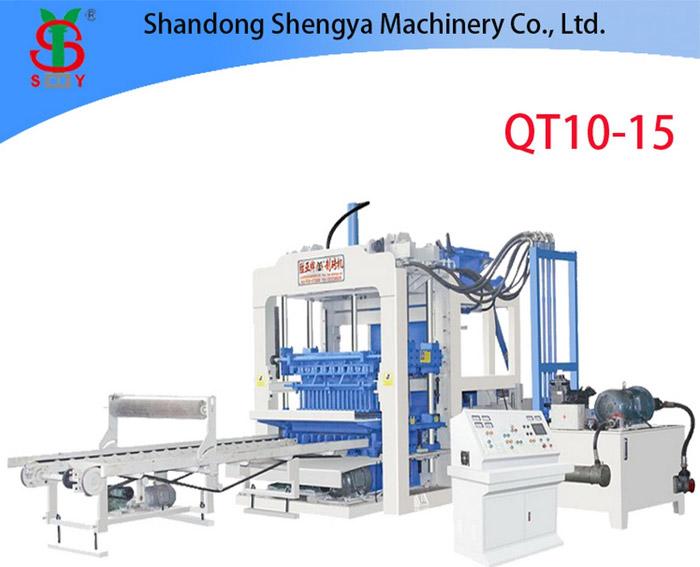 QT10-15 automatic block machine for sale