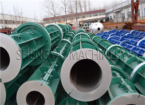 The Choose of Concrete Spun Pole Machine