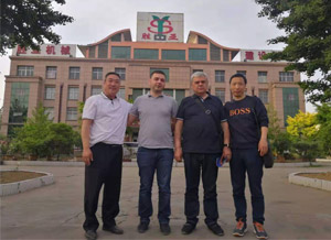 Foreign Customers Come to Visit Our Factory